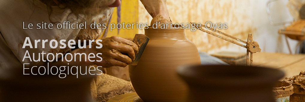 le site officiel des poteries d'arrosage Oyas